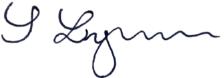 Sophie Lyman signature
