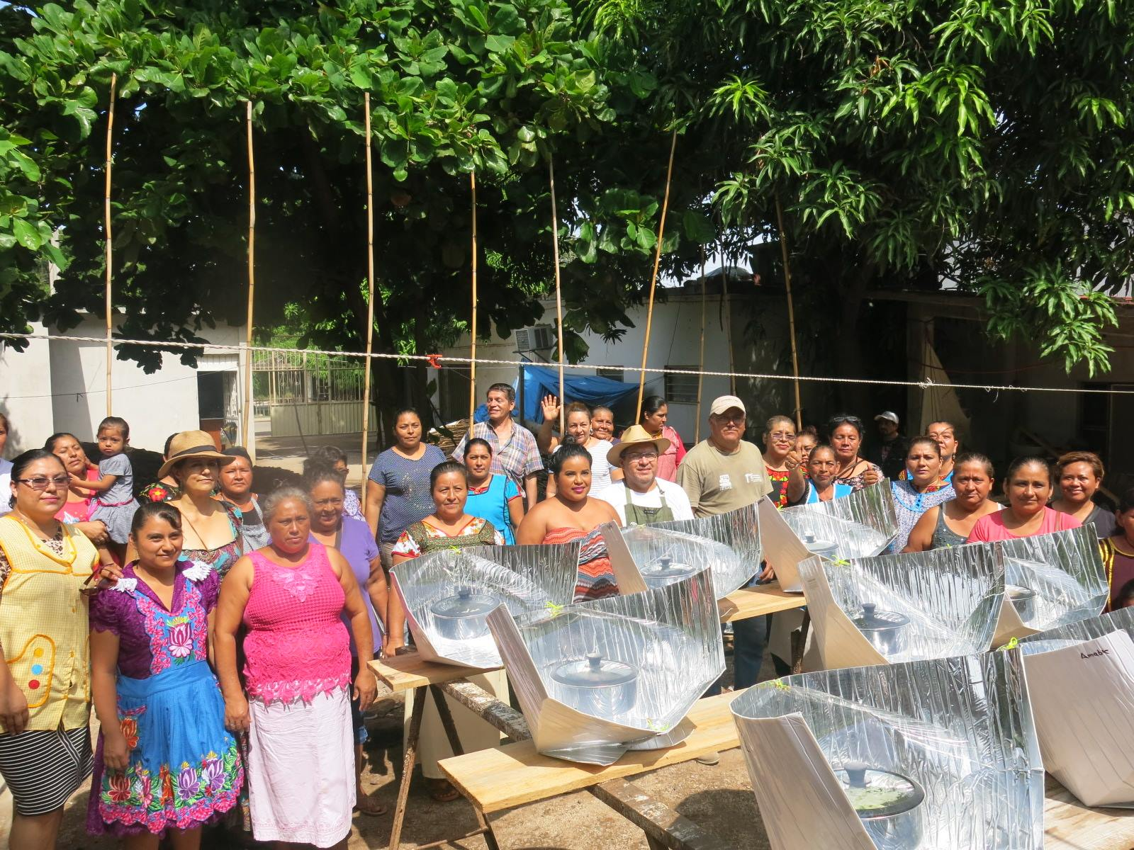 45 Haines solar cookers donated to earthquake victims