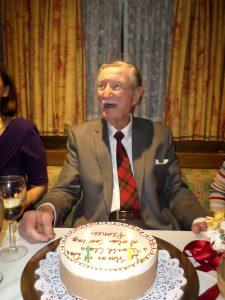 Dar at retirement celebration dinner